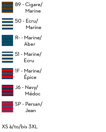 Navy /& Medoc Binic ii by Saint James 100/% Wool Breton Sailors//Fishing Jumper